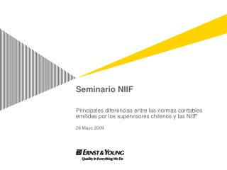 Seminario NIIF