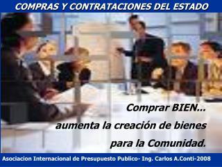 COMPRAS Y CONTRATACIONES DEL ESTADO