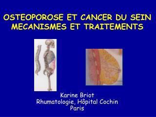 Karine Briot Rhumatologie, H pital Cochin  Paris