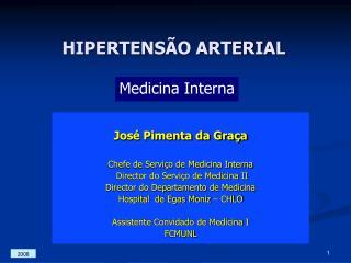 HIPERTENS O ARTERIAL