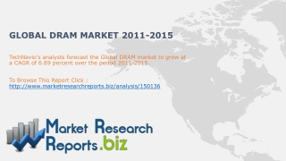 Global DRAM Market 2011-2015
