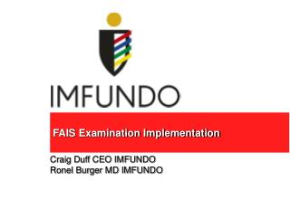 FAIS Examination Implementation