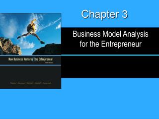 Business Model Analysis for the Entrepreneur