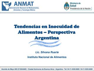 Avenida de Mayo 869 C1084AAD - Ciudad Aut noma de Buenos Aires - Argentina - Tel: 54-11-4340-0800
