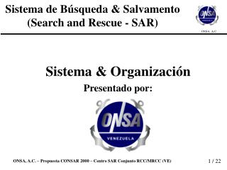 Sistema de B squeda  Salvamento Search and Rescue - SAR