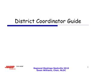 District Coordinator Guide