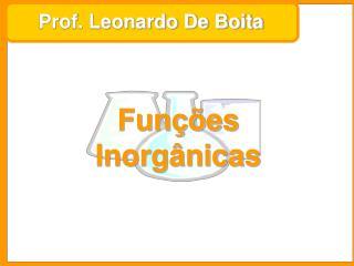 Prof. Leonardo De Boita