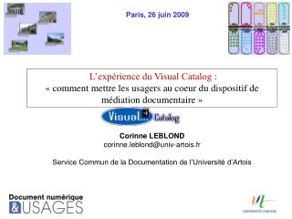 L exp rience du Visual Catalog :    comment mettre les usagers au coeur du dispositif de m diation documentaire