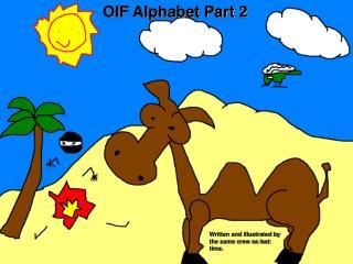 OIF Alphabet Part 2
