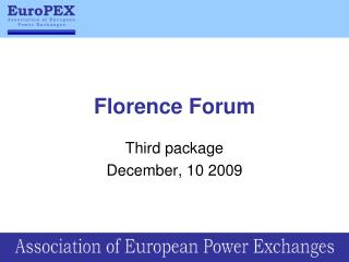 Florence Forum