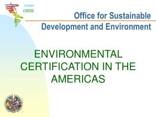 Office for Sustainable Development and Environment