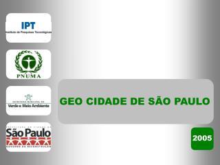 GEO CIDADE DE S O PAULO