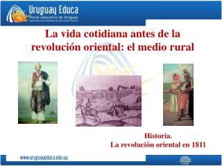 La vida cotidiana antes de la revoluci n oriental: el medio rural
