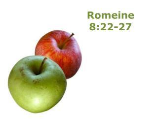 Romeine 8:22-27