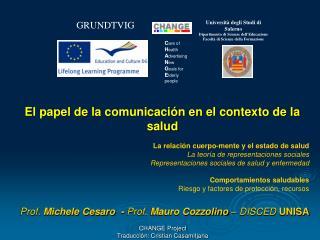 CHANGE Project Traducci n: Cristian Casamitjana