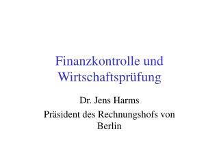 Finanzkontrolle und Wirtschaftspr fung