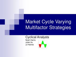 Market Cycle Varying Multifactor Strategies