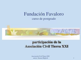 Fundaci n Favaloro curso de postgrado