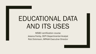Data Collection, storage and reporting  for college access programs