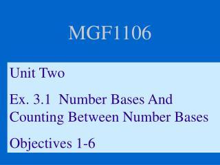 MGF1106