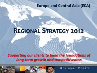 Regional Strategy 2012
