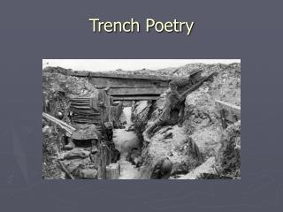 Trench Poetry