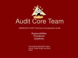 Audit Core Team