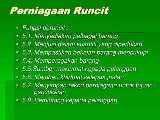 Perniagaan Runcit