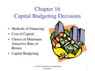 Chapter 16 Capital Budgeting Decisions