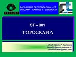 ST   301  TOPOGRAFIA