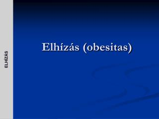 Elh z s obesitas