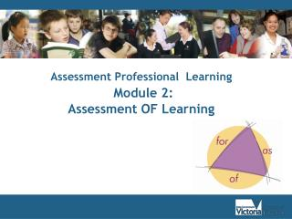 Assessment Professional  Learning  Module 2:  Assessment OF Learning