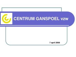 CENTRUM GANSPOEL vzw