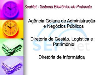 SepNet - Sistema Eletr nico de Protocolo