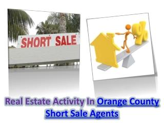 Orange County Short Sale Agents
