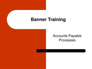 Banner Training
