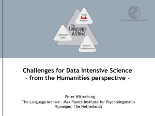 Challenges for Data Intensive Science - from the Humanities perspective -