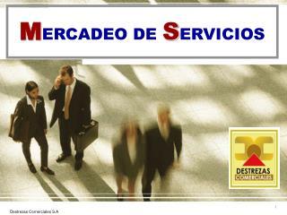 MERCADEO DE SERVICIOS