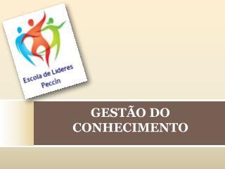 GEST O DO CONHECIMENTO
