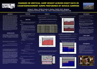 CHANGES IN VERTICAL JUMP HEIGHT ACROSS EIGHT DAYS IN  COUNTERMOVEMENT JUMPS PERFORMED BY NOVICE JUMPERS