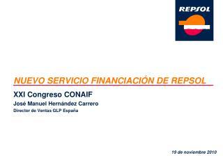NUEVO SERVICIO FINANCIACI N DE REPSOL