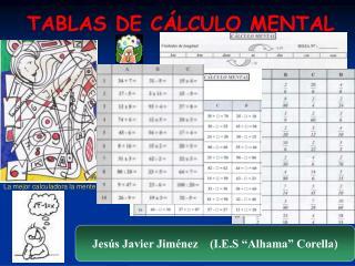 TABLAS DE C LCULO MENTAL