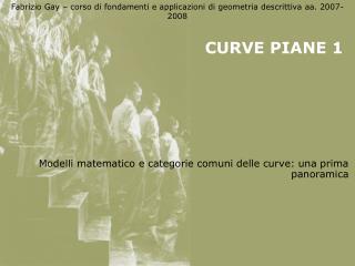CURVE PIANE 1