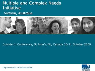 Multiple and Complex Needs Initiative  Victoria, Australia