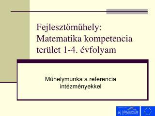 Fejlesztomuhely: Matematika kompetencia ter let 1-4.  vfolyam