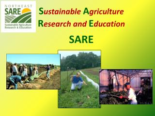 Sustainable Agriculture Research and EducationSARE