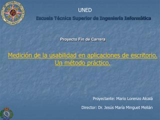 Escuela T cnica Superior de Ingenier a Inform tica