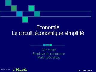 Economie Le circuit  conomique simplifi