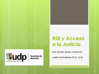 RSE y Acceso a la Justicia