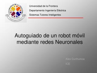 Universidad de la Frontera Departamento Ingenier a El ctrica Sistemas Tutores Inteligentes